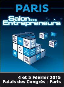 Salon des entrepreneurs de Paris (4-5 février 2015)
