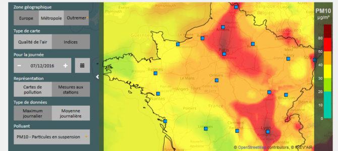 Épisode de pollution de l'air : les outils de la prévision